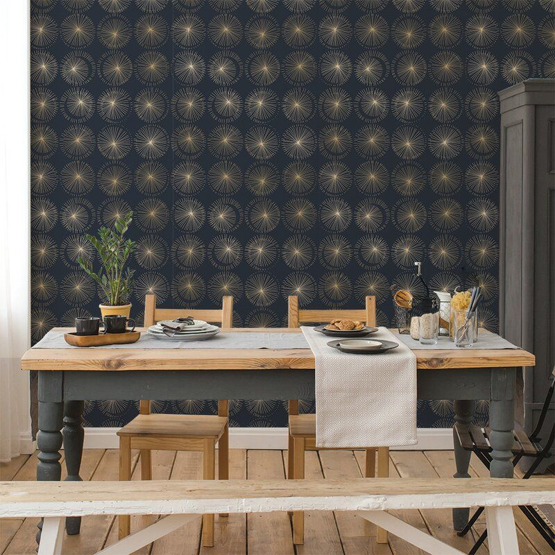 House Of Hampton Olivas 33 L X 20 5 W Peel And Stick Wallpaper Roll Reviews Wayfair Removable Wallpaper Decor Peel And Stick Wallpaper