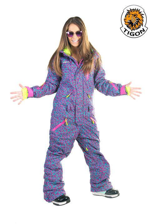 15385c0e9f Buy women one piece ski suit (jumpsuit. onesie) 1605 at snow-point ...