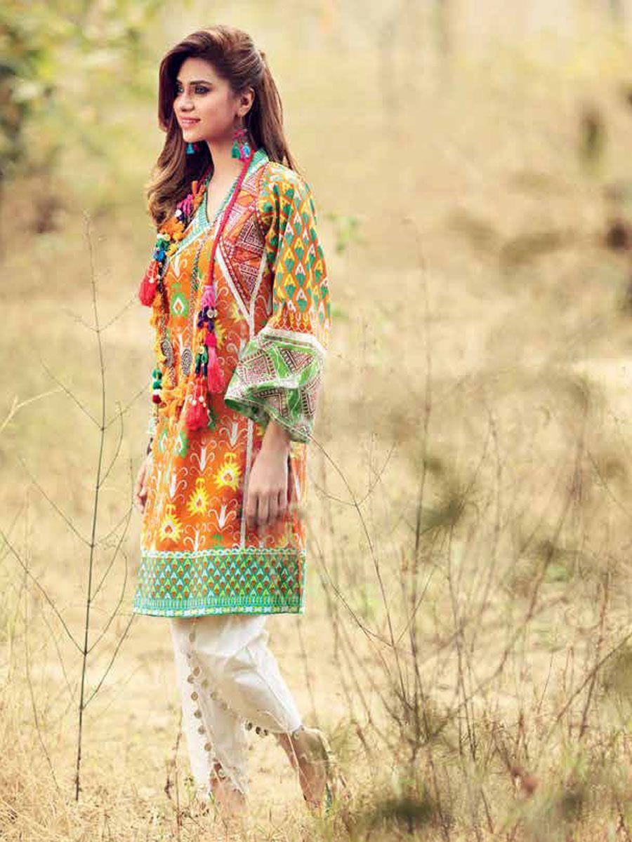 Women's Clothing Brand New Maria B Replica Indian Pakistan Shawar Kameez Gul Ahmed Faraz Manan