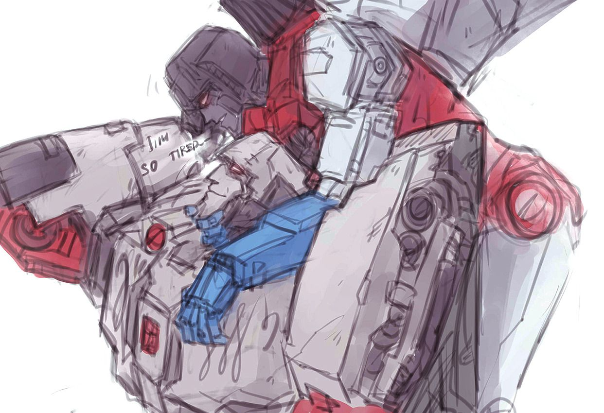 Right in my kokoro starscream (With images