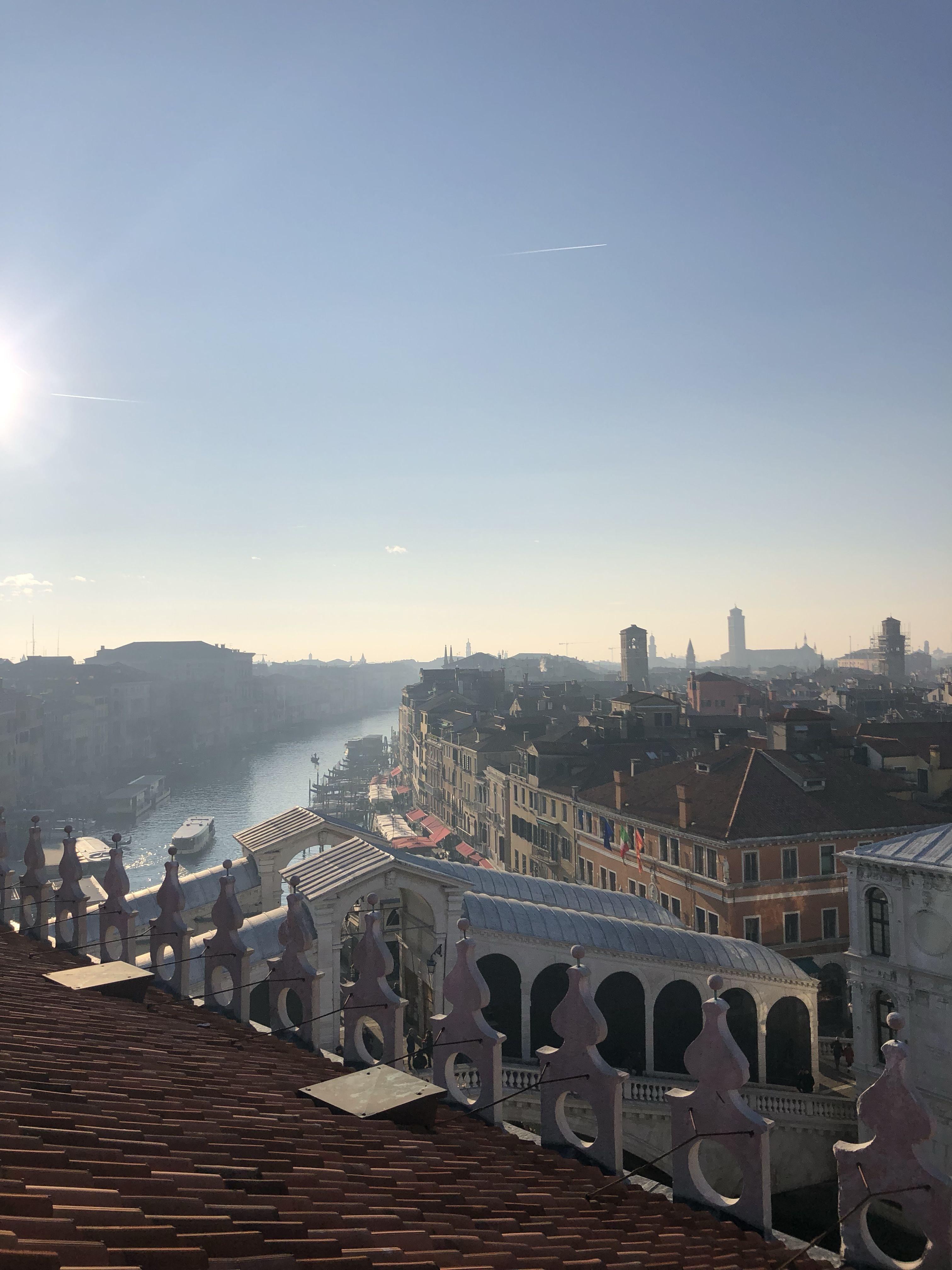 Venezia Vista Dalla Terrazza Del Fondaco Dei Tedeschi