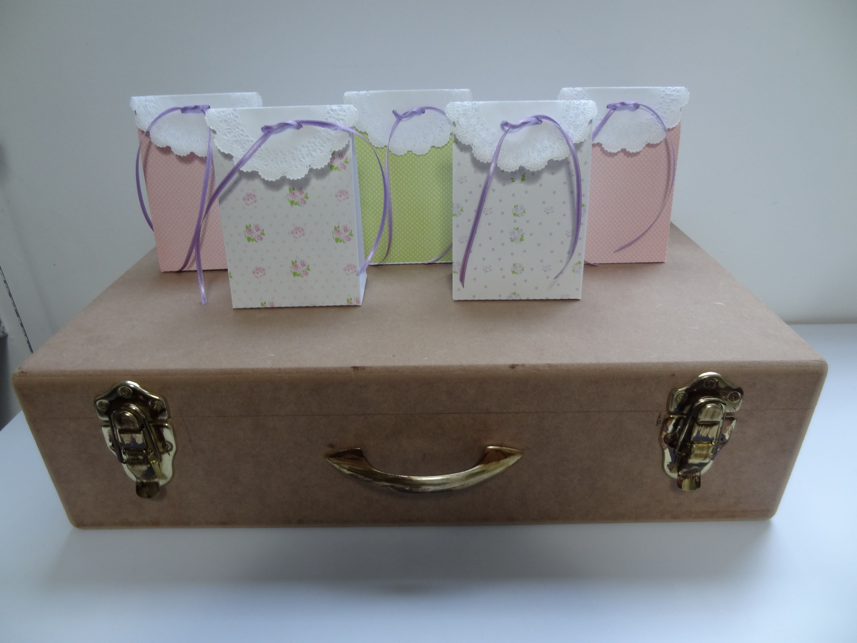 cajas para los recordatorios o los dulces de los niños.