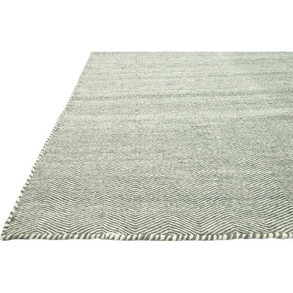 Honi Global Soft Blue Zig Flat Weave Wool Rug -3'6x5'6 (605 BRL) ❤ liked on Polyvore featuring home, rugs, light blue chevron rug, baby blue rug, flat woven rug, wool area rugs and flat weave wool rug