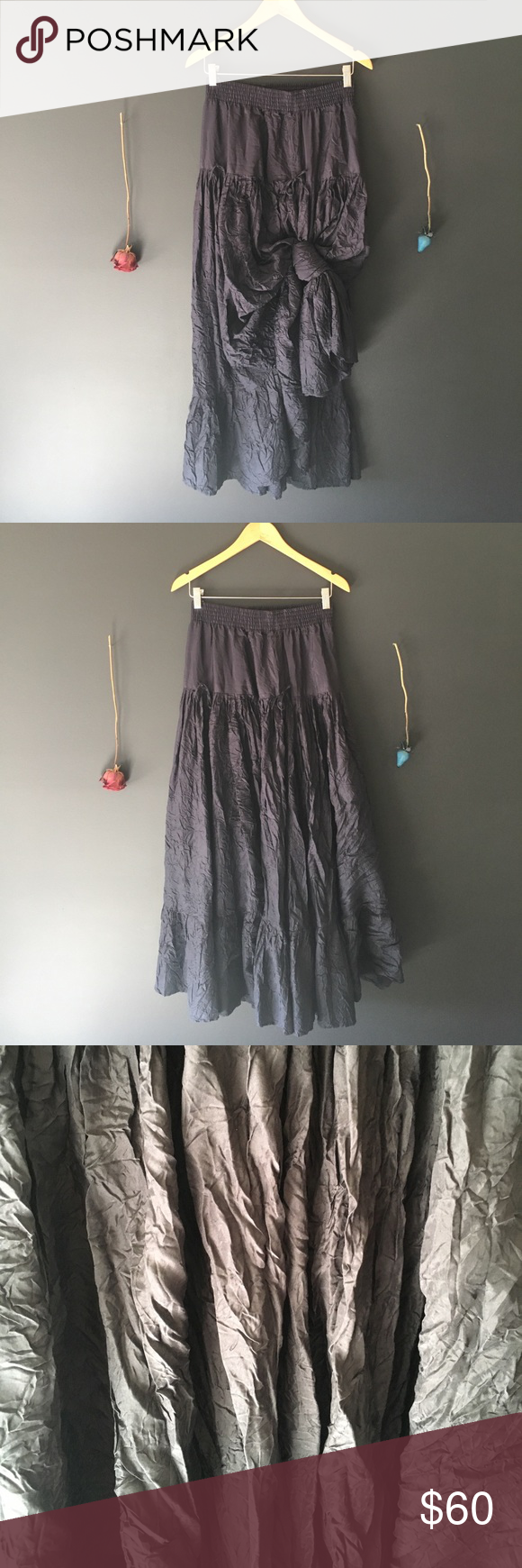 CALYPSO ST BARTH Classic Parachute Skirt CALYPSO ST BARTH Classic Parachute Skirt in navy blue. 100% silk. Very versatile, can tie up in multiple ways! Fits true to size. SIZE XS. Calypso St. Barth Skirts Maxi