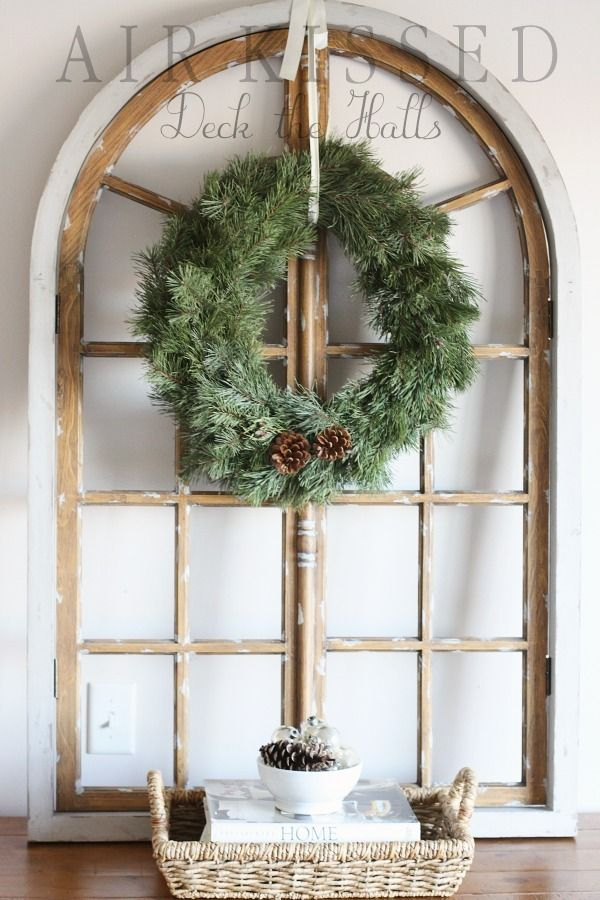 Love salvaged architectural pieces used in decorating ...