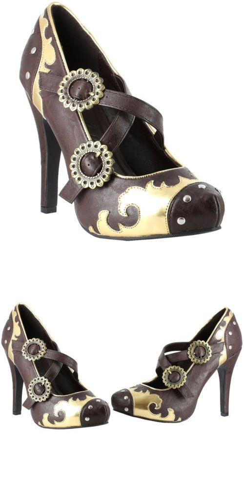 shoes and footwear 155347 steampunk shoes for women adult halloween costume fancy dress