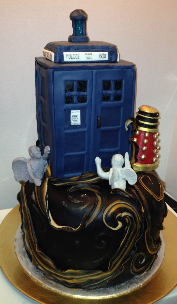 DR WHO CAKES CUPCAKES Cake and Dalek cake