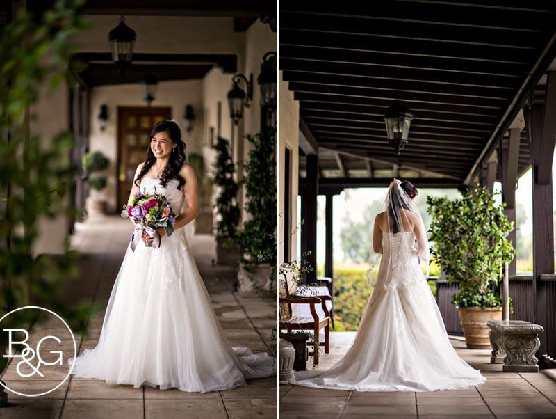Rose Aron Joyce Jonathan Altadena Town Country Club Wedding Pasadena