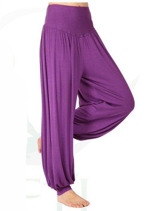 Photo of Pantaloni da ballo modali da donna Harem Pants