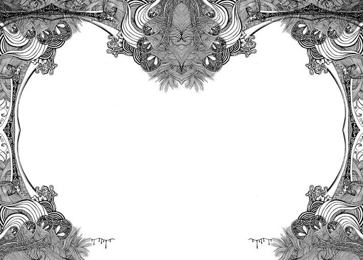 Full Page Border Design | mantap | Pinterest | Marcos y Dibujo