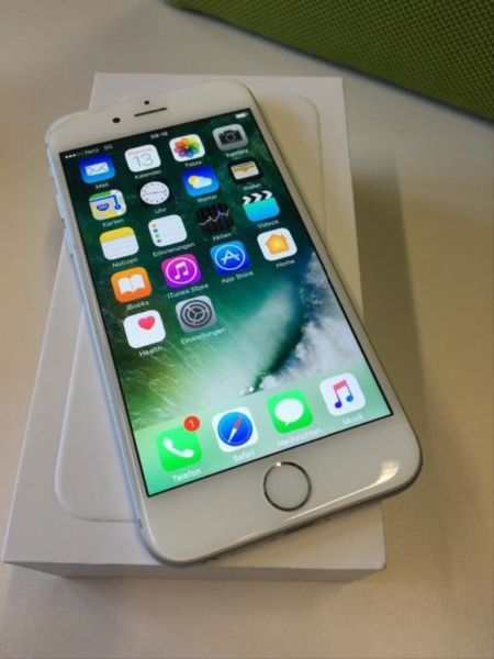 apple iphone 6 64gb silber in essen west holsterhausen