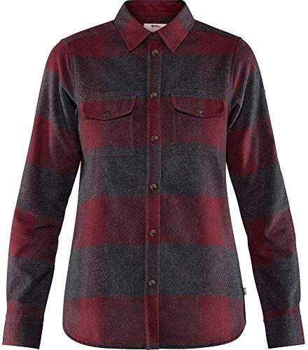 Photo of Genießen Sie exklusiv für FJLLRVEN Canada Shirt Dark Garnet XS nur …