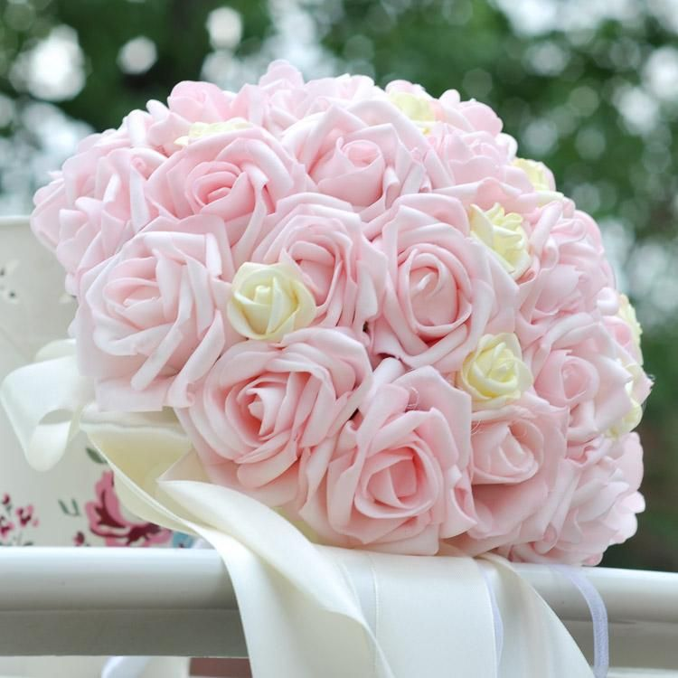 For Wedding The New Korean Brides Hand Bouquet And Fresh Bridesmaid ...