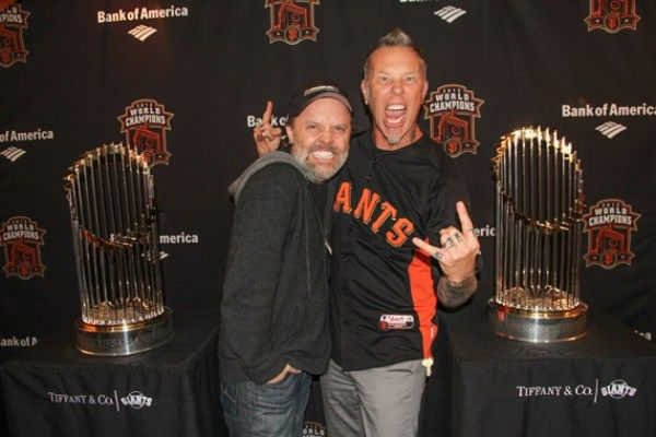 Metallica Survived The Making Of St Anger And Now Drummer Lars Ulrich Claims His Relationship With Frontman James H James Hetfield James Metallica Metallica