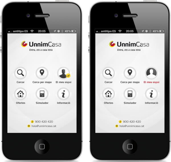 UnnimCasa App by Antitipo , via Behance Best dating apps