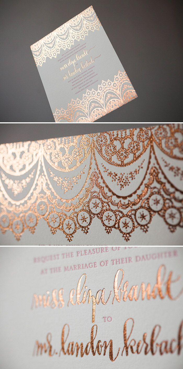 Wedding Inspiration Modern Rose Letterpresses Hot Pink And Weddings