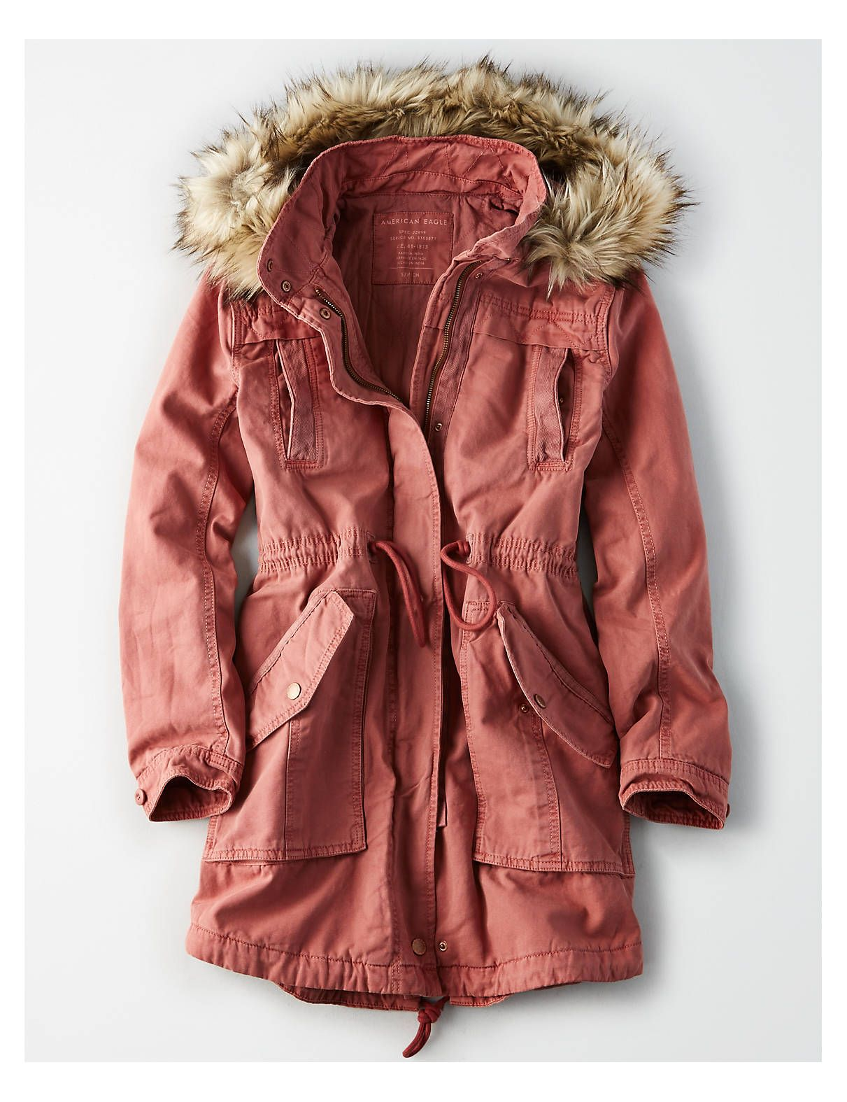 81c95ed2fc3 You've been warmed. Stay cozy in any conditions with a fur collar and