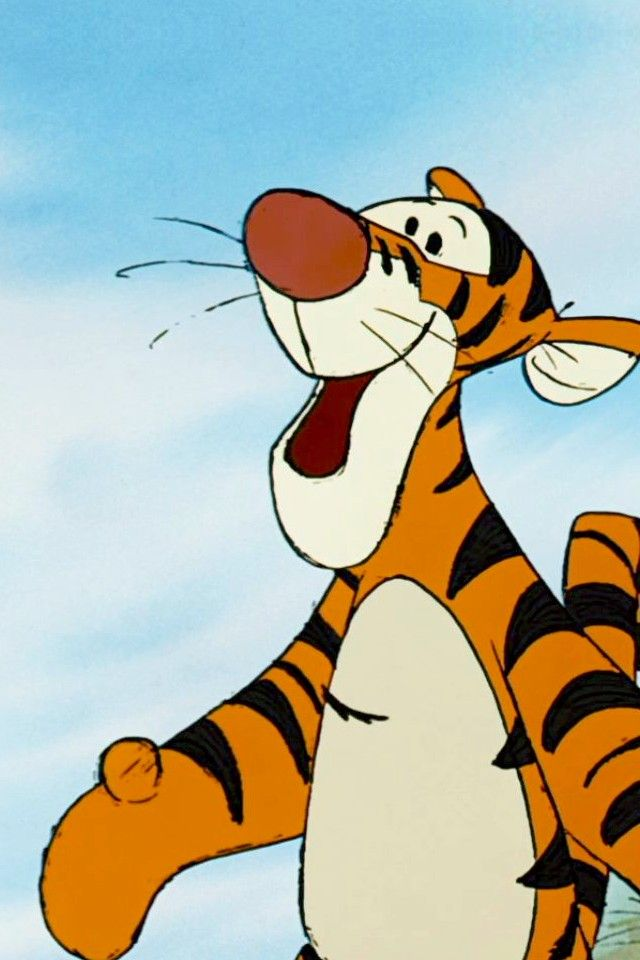 Doesn T This Make You Smile Tigger Winnie The Pooh Tigger And Pooh Disney Wallpaper