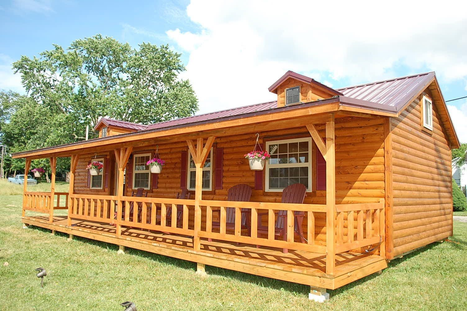 Amish cabin company appalachian model tour published on for Amish house builders