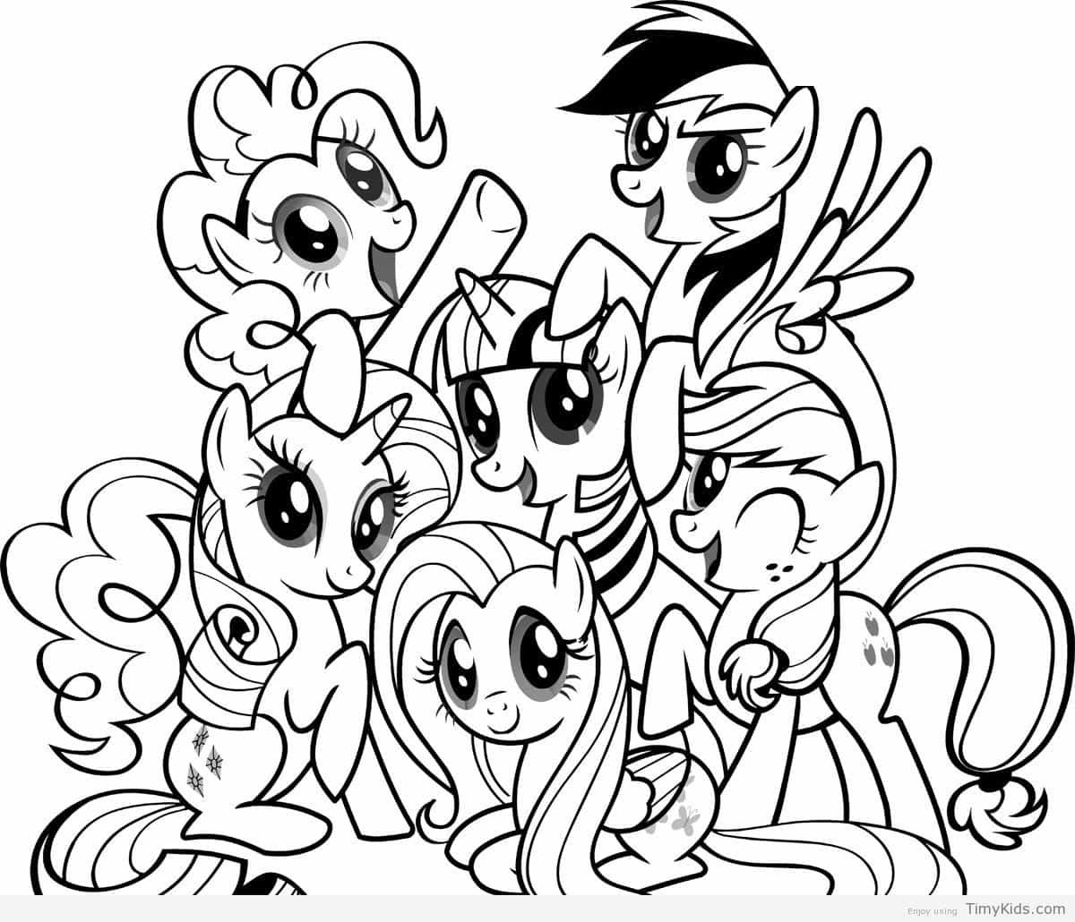 http://timykids.com/coloring-pages-for-girls-my-little-pony.html ...