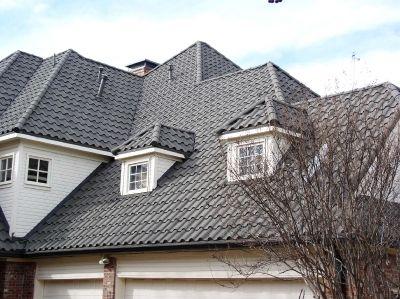 Residential Metal Roof Tiles Roofing Modern Roofing