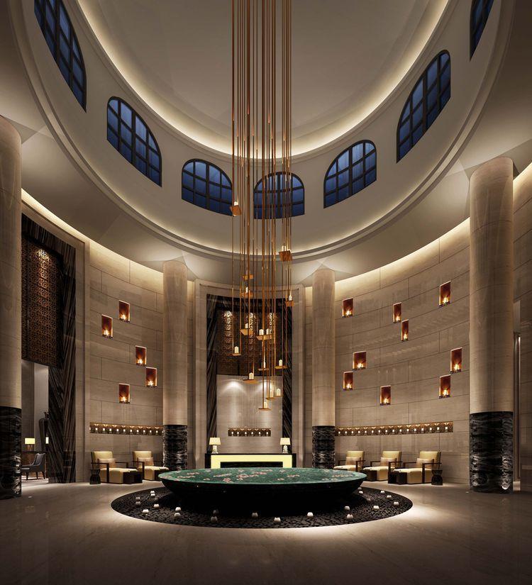 Pin by lydia botros on modern diwaniya lobby design for Hotel spa decor