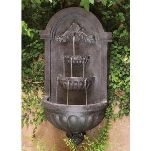 35 In San Marco Plum Bronze Finish Wall Fountain 50024plbz Wall