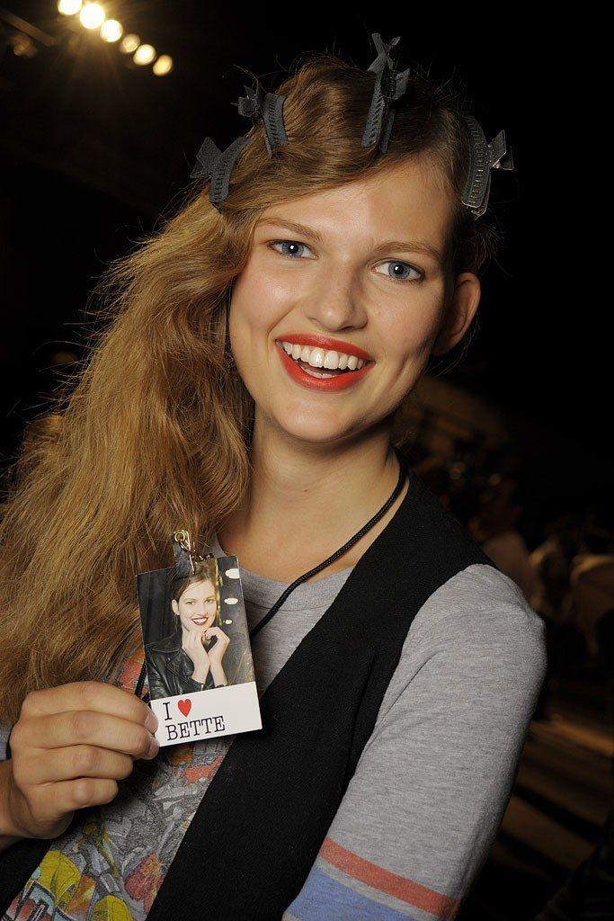 Bette Franke.  Proenza Schouler Spring 2009 Ready-to-Wear Beauty Photos - Vogue