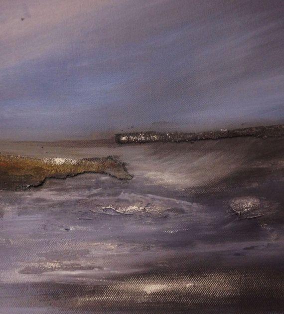 Original acrylic and mixed media seascape by Designerstudio72, £99.00