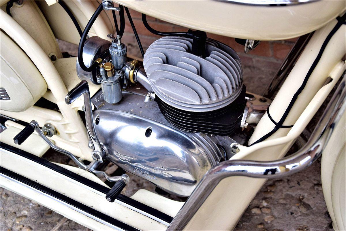1953 Parilla 150 Bracco – Coys of Kensington   Motos