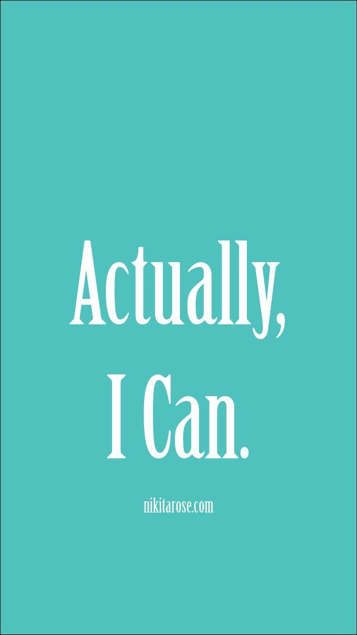 Phone Wallpaper Simple Inspirational Motivational Aqua
