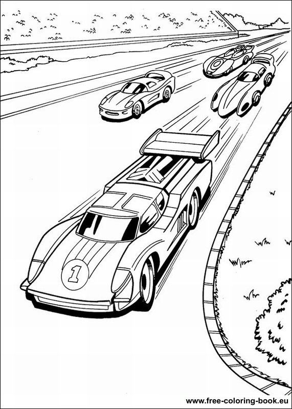 Hot Wheels Coloring Pages | Printable Coloring Pages | Pinterest