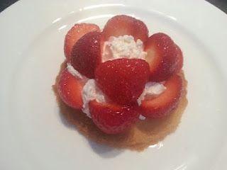 Strawberrie desert