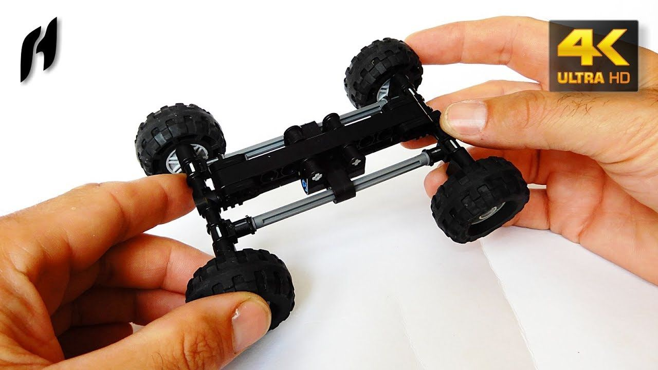 How to Build the Tatra Suspension with Torsion Bar (Lego Technic ...