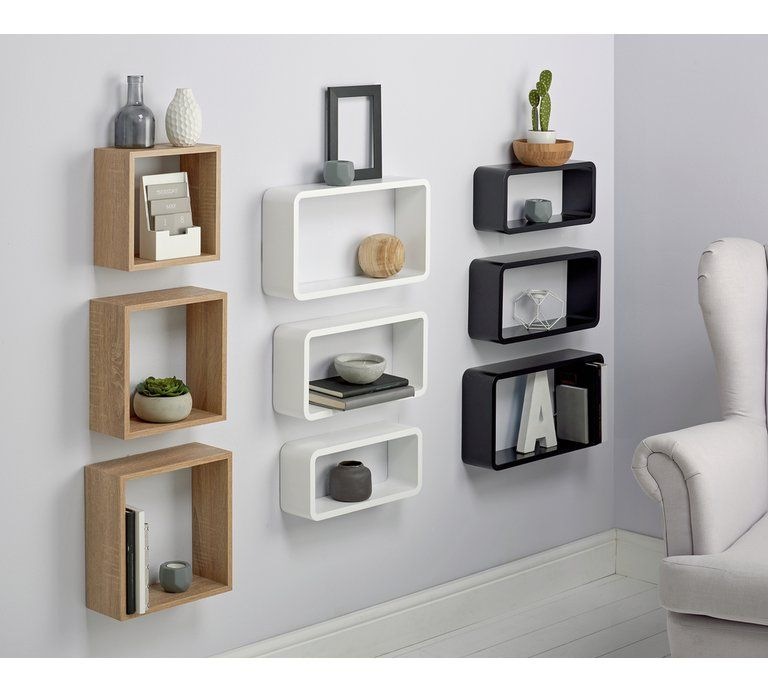 separation shoes f6763 a135a Home Set of 3 Cubes - White | Bedroom - Guest in 2019 ...