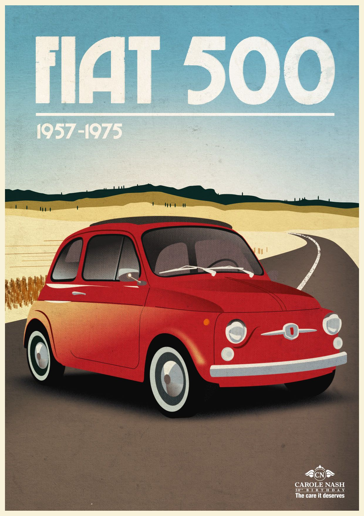 Fiat 500 fiat 500 pinterest fiat motorcycle art and for Decoration murale fiat 500