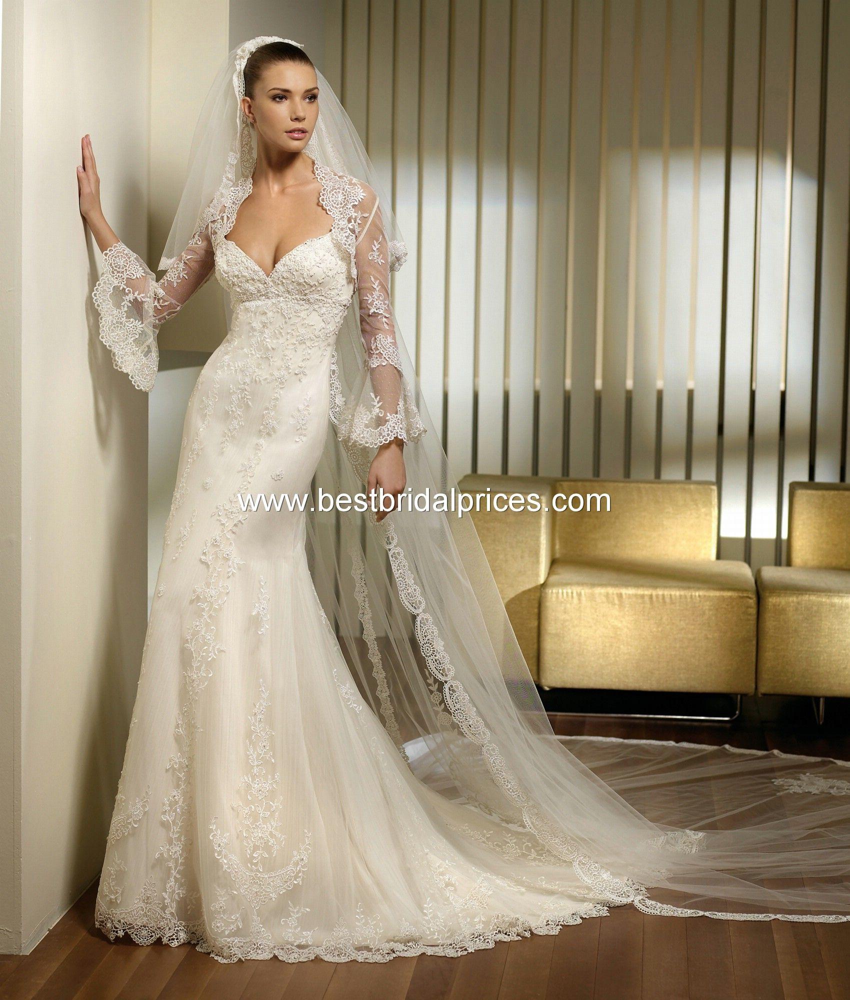 San Patrick wedding gown - Prado | Wedding gown | Pinterest ...