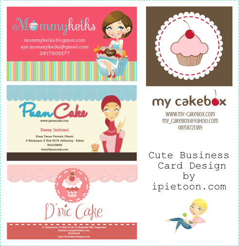 Cute Business CardName Card Design Custom Blogger Template - Cute business cards templates free