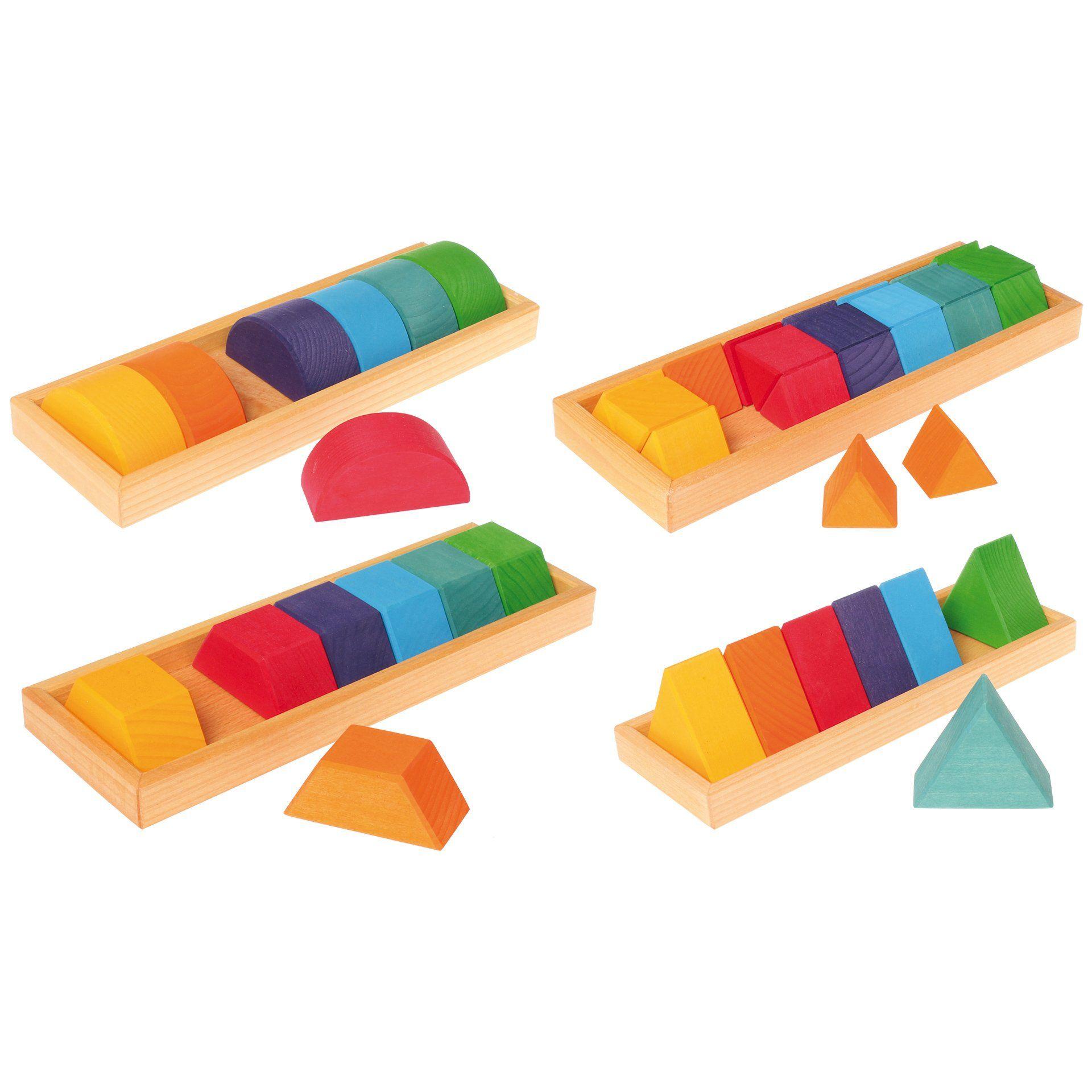 Grimm s Shapes & Colors Building Set Play