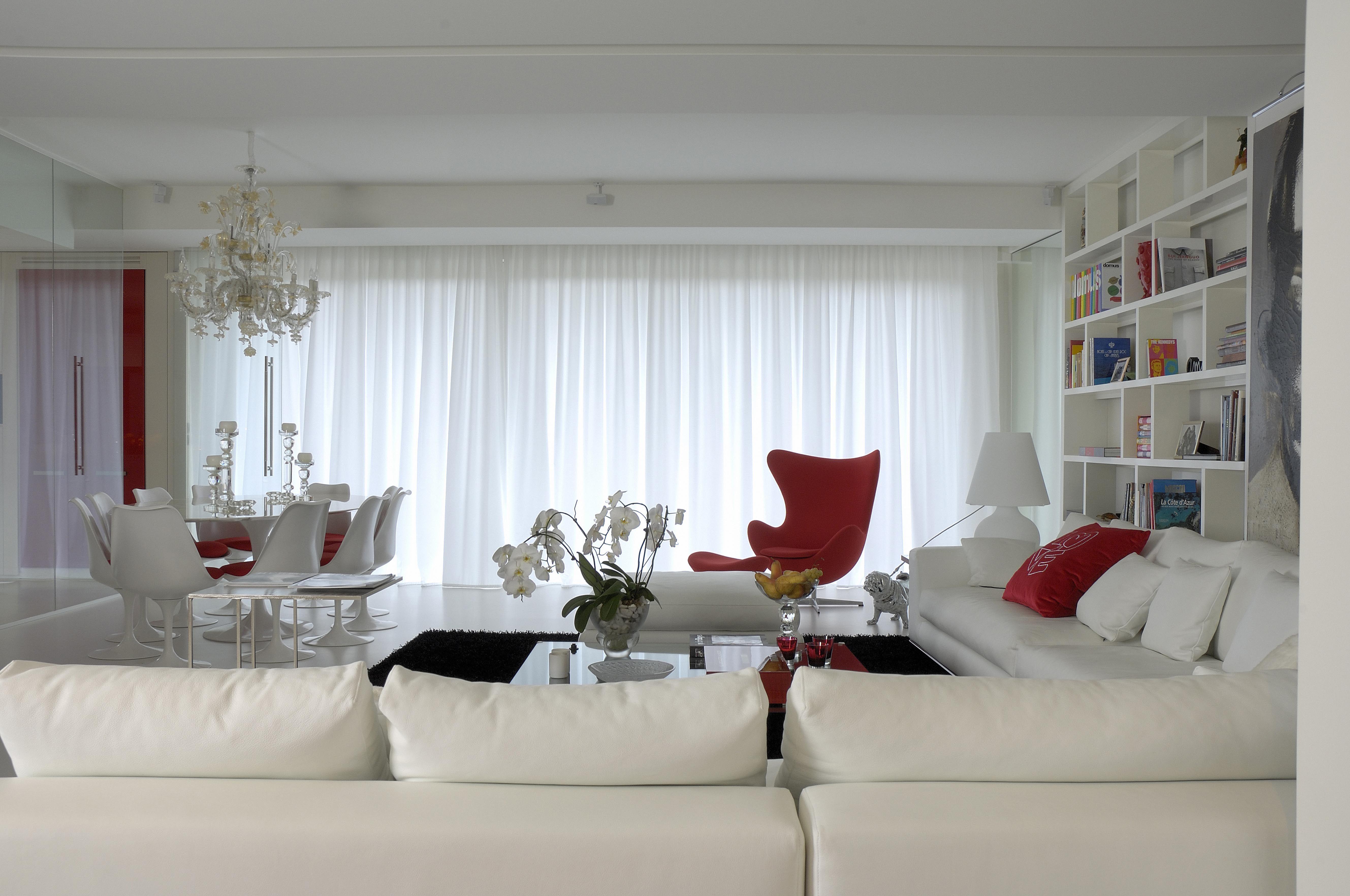 R novation int rieur architecte contemporain chic lyon paris luxe salon r alisations for Architecte interieur luxe