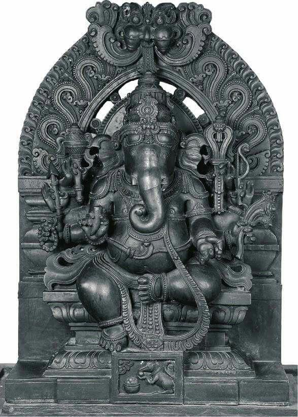 How To Make An Interesting Art Piece Using Tree Branches Ehow Ganesh Statue Indian Art Ganesha Art