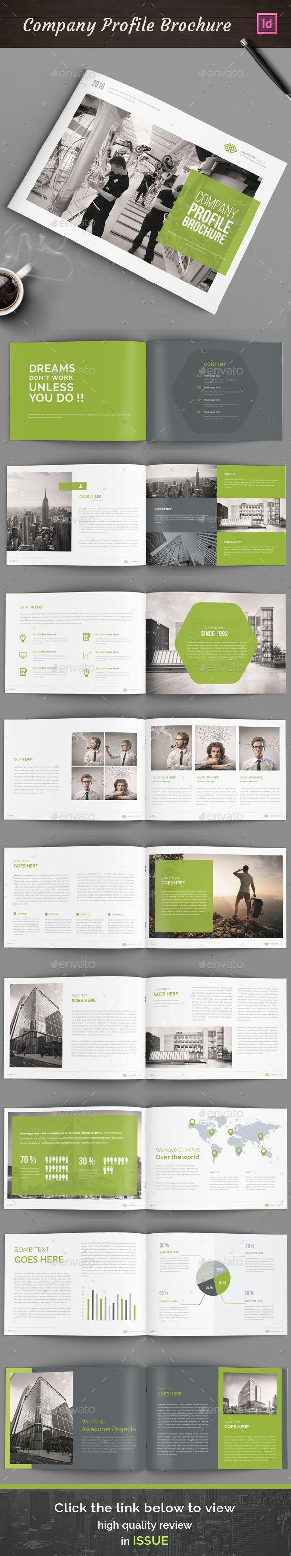 Pin von Bashooka Web & Graphic Design auf Brochure Template ...