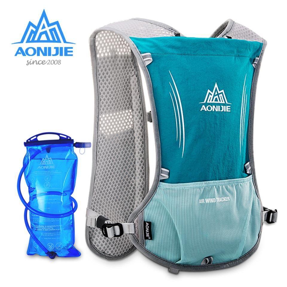 023d4f0cd0 AONIJIE 5L Women Men Lightweight Running Backpack Outdoor Sports Trail  Racing Marathon Hiking Fitness Bag Hydration Vest Pack