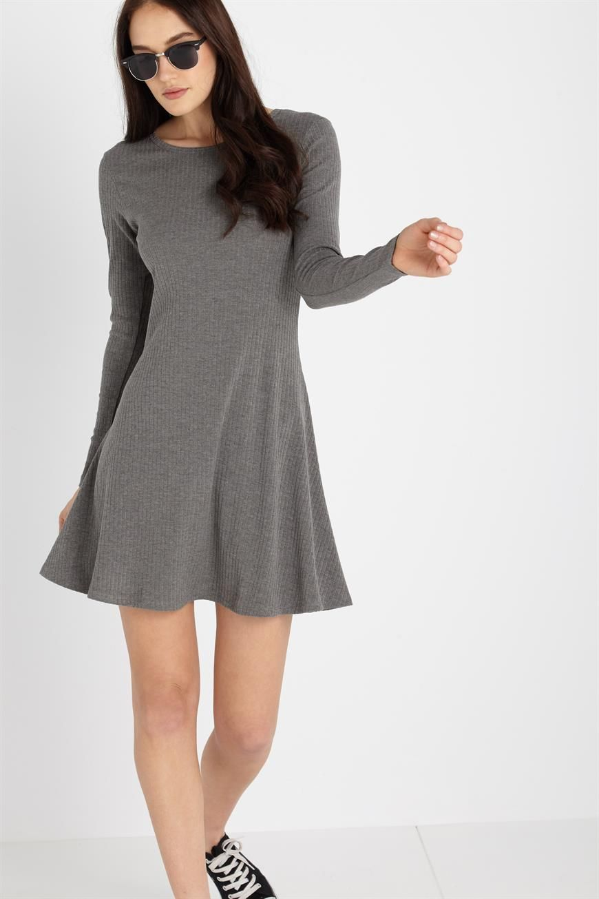 Kn Arizona Long Sleeve Fit N Flare Fit N Flare Dress Womens Dresses Shop Maxi Dresses [ 1305 x 870 Pixel ]