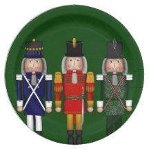 Nutcracker Trio-Green-PAPER PARTY PLATES 9 Inch Paper Plate #green # nutcracker  sc 1 st  Pinterest & Nutcracker Trio-Green-PAPER PARTY PLATES 9 Inch Paper Plate #green ...