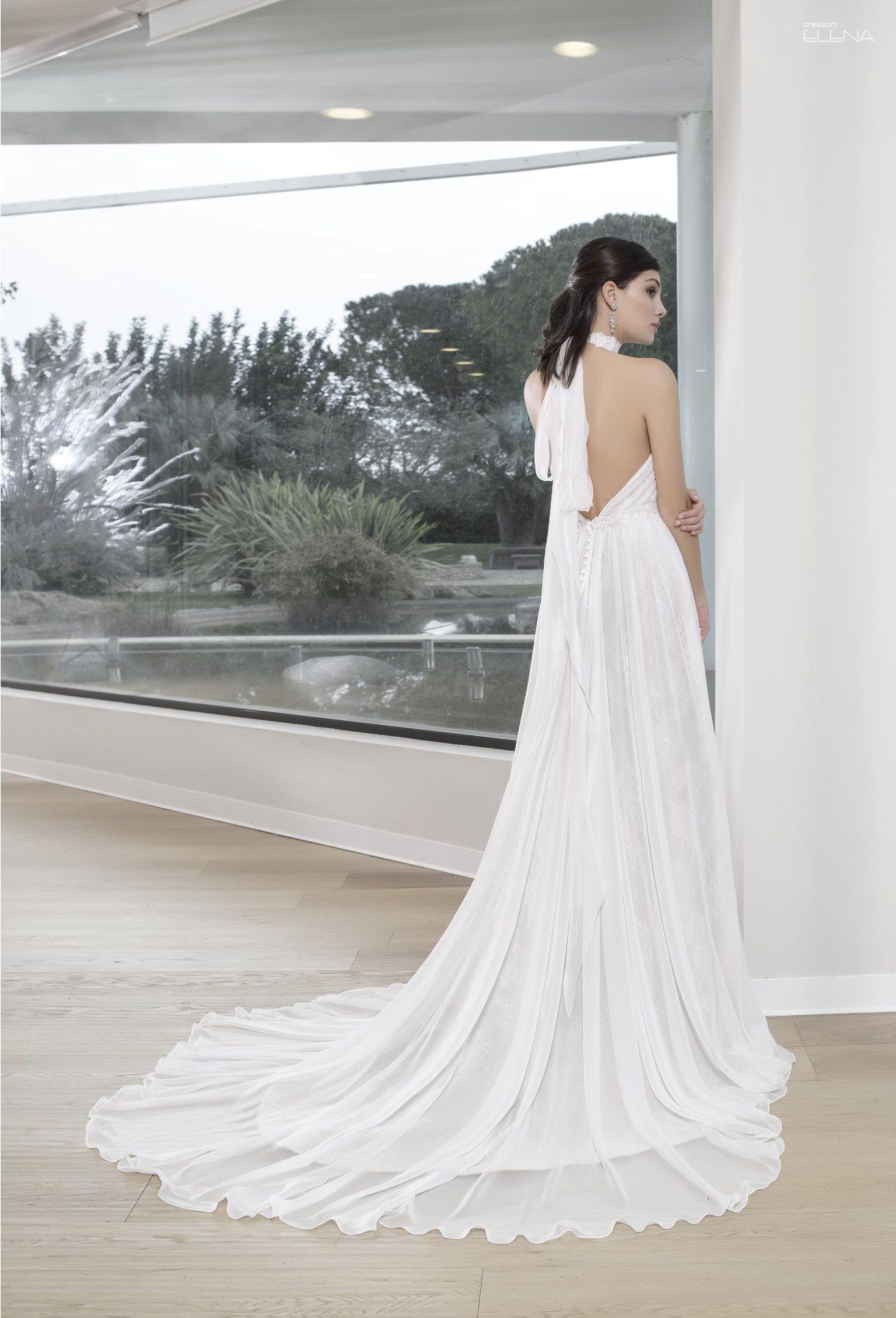 2055e0d4a5b1 Abito da sposa della collezione Creazioni Elena 2019 in vendita presso il negozio  Boutique Velo di