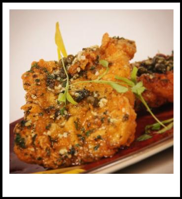 GlutenFree Calamari Piccatta Food, Vegetables, Fresh