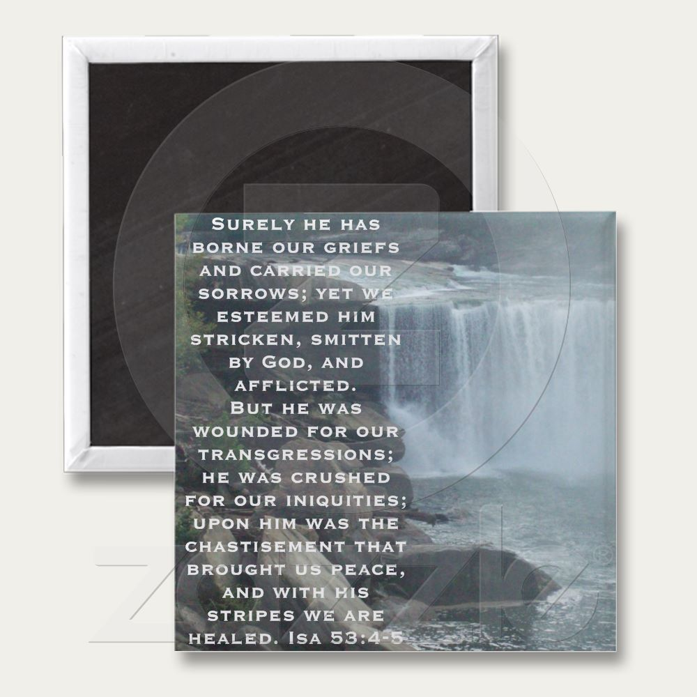 Isaiah 53 Collection Refrigerator Magnet $3.20