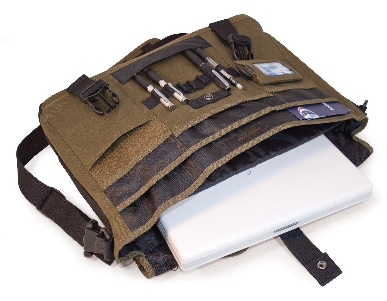 Messenger Bag 17 Inch Laptop Canvas