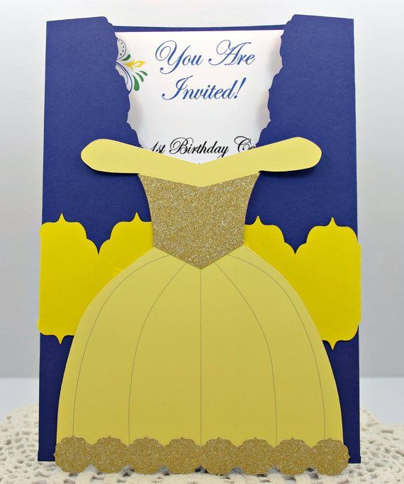 10 Beauty The Beast Themed Invitations Quince Invitations